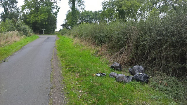 Gumley flytipping