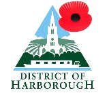 HDC logo with poppy