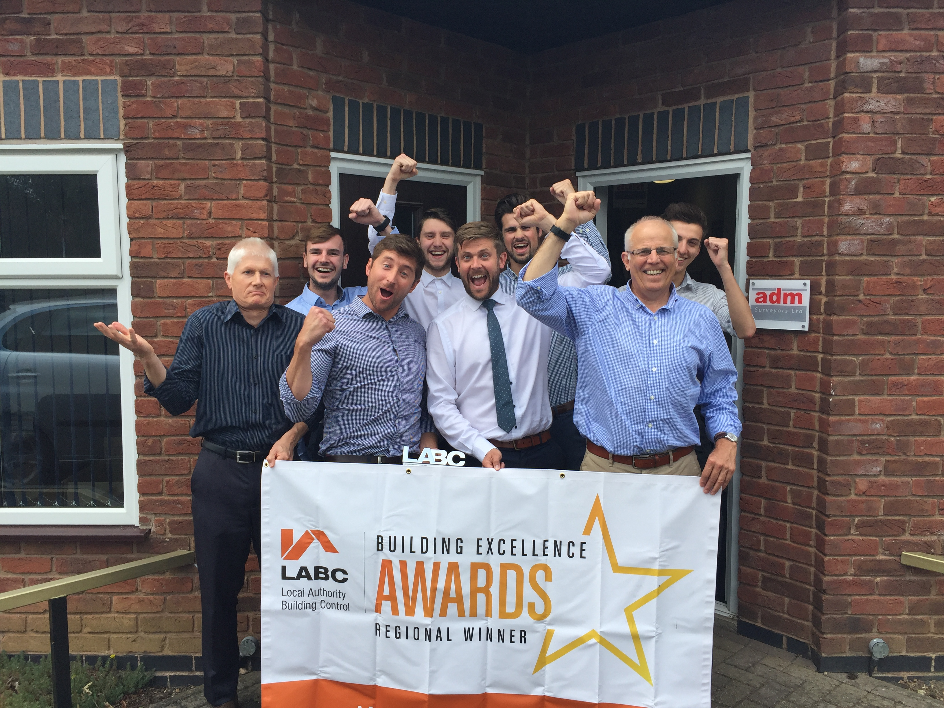 Adm surveyors building excellence award winners