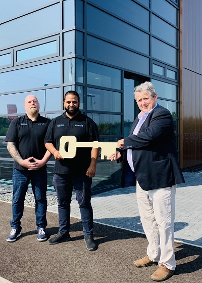 Grow-on Centre's first tenants