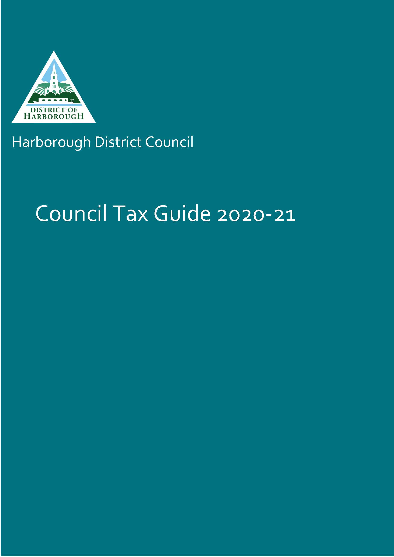 Hdc council tax leaflet