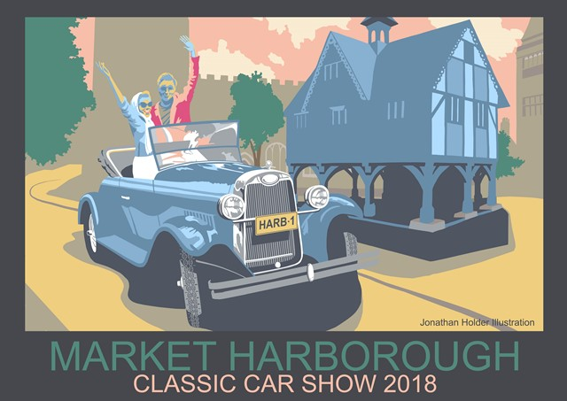 Harborough classic car show 2018