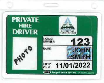 Private Hire Badge