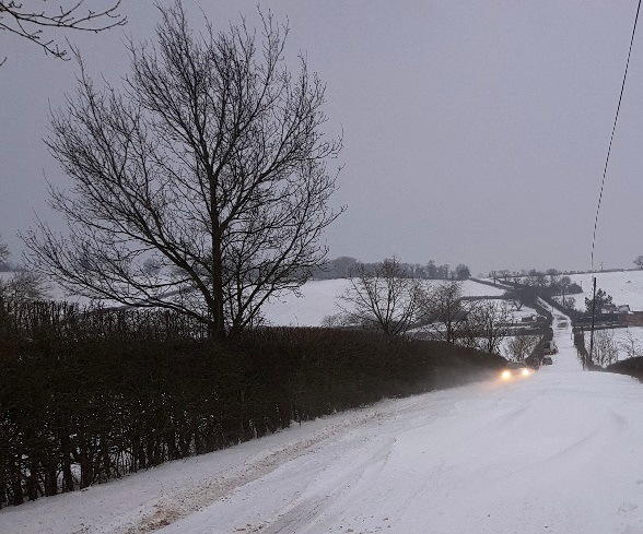 Severe snow in villages