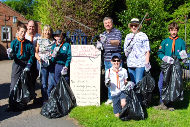 Ullesthorpe big clean up
