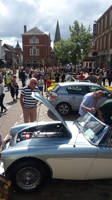 Market Harborough Classic Car Show